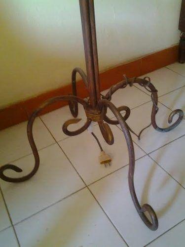 lampara de pie hierro forjado | Decoracion | Pinterest | Hierro ...