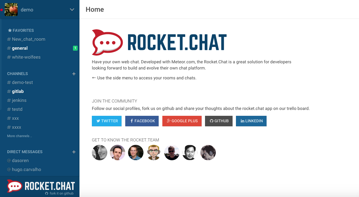 Steps to Install Rocket Chat on Ubuntu 14 04 LTS | Cloud