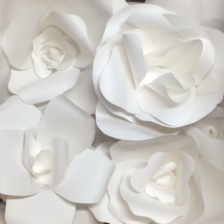 Paper Flower Wall Paper Flower Backdrop wedding decoration