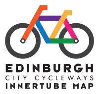 Edinburgh Innertube Map Launched Today Logo Velo Logos Planning