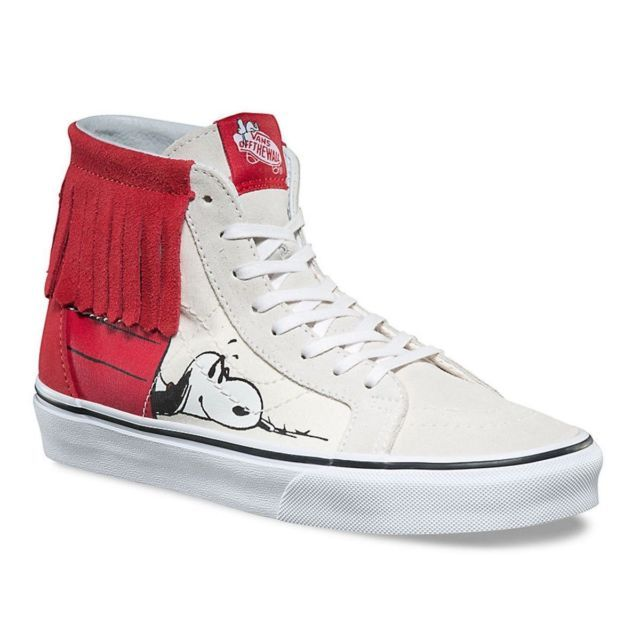 ec3c65836a NEW NIB Unisex Snoopy Peanuts Vans Charlie Brown SK8-HI Dog House Shoes  M5 W6.5