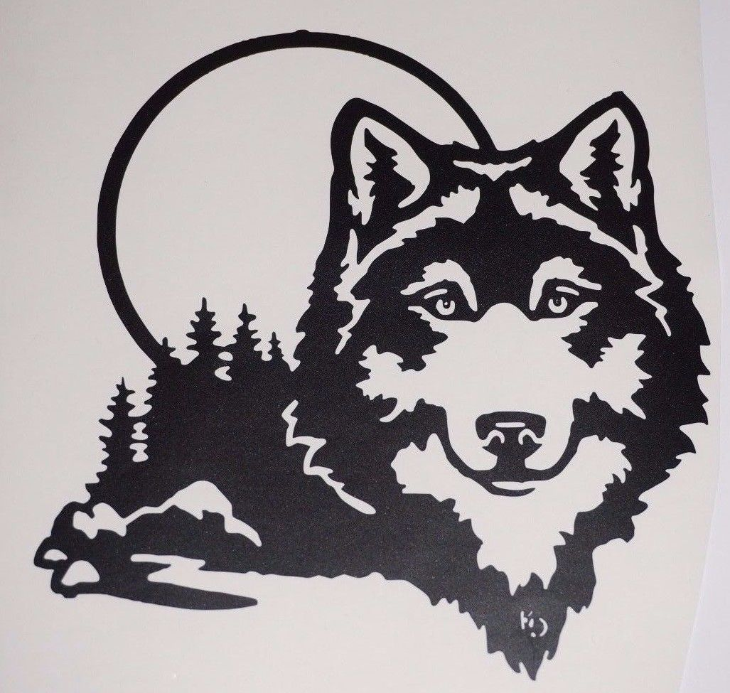Wolf Custom Stickers