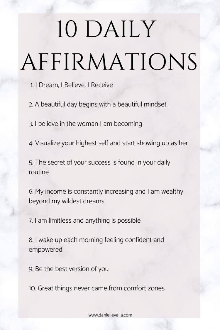 Affirmations to Manifest More Abundance   Affirmations