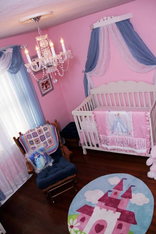 Disney Princess Inspired Nursery Disney Baby Nurseries