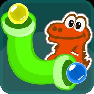 Tu objetivo es conectar los tubos de diferentes colores para formar una tubería del color adecuado y poder alimentar a tus adorables dragones.