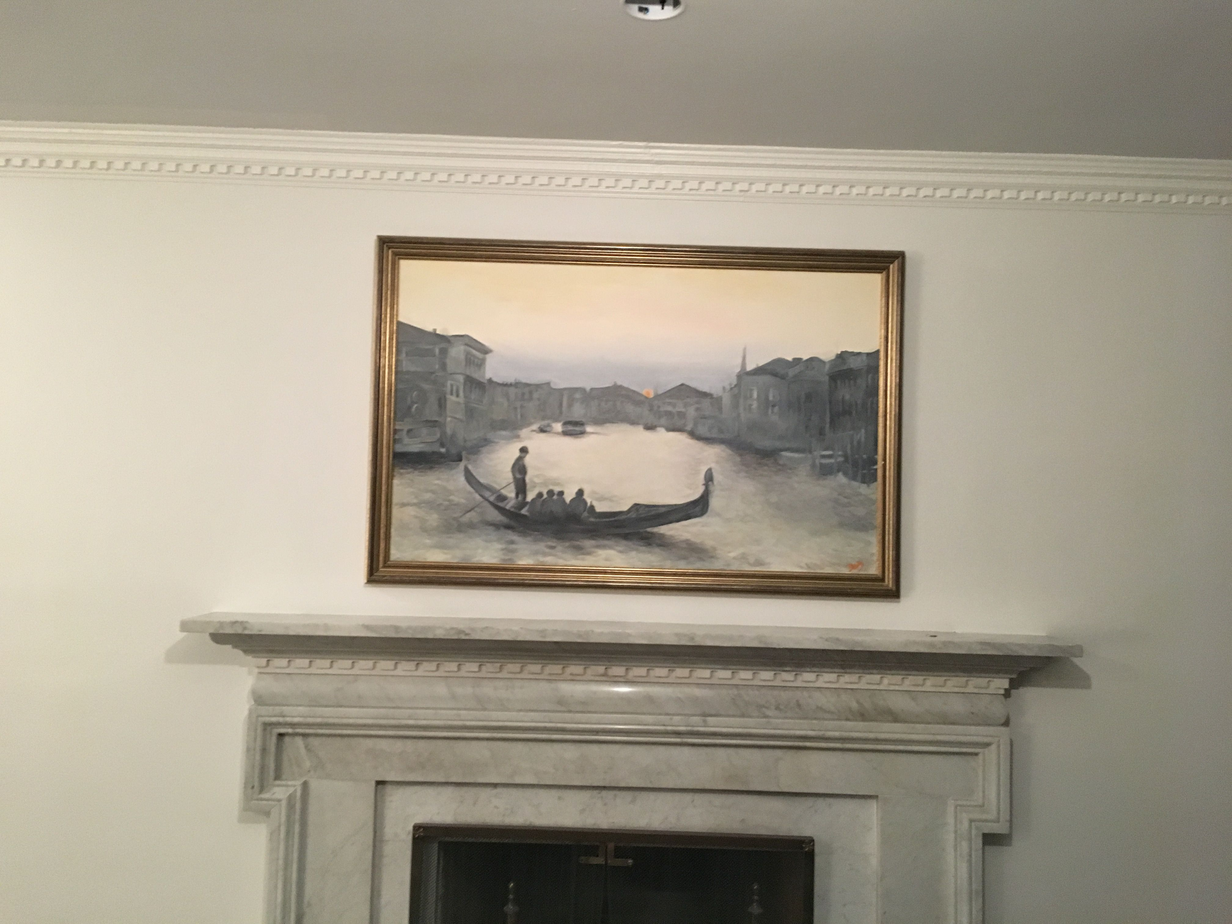 Mantle art professional picture hanging service custom framing professional picture hanging service custom framing by central galleries in cedarhurst ny jeuxipadfo Image collections