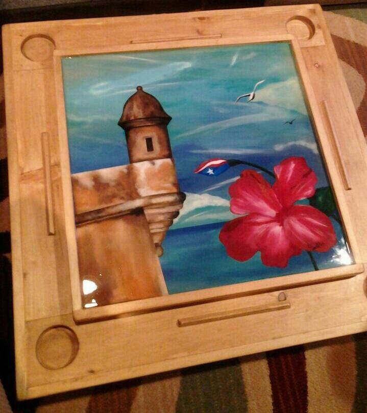 El Morro Puerto Rico Domino Table Dominos Domino Table