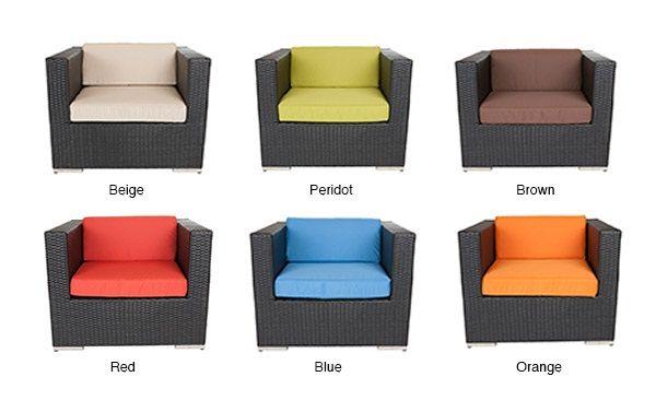 Ohana Depot Patio Outdoor Wicker Sofa, Ohana Patio Furniture