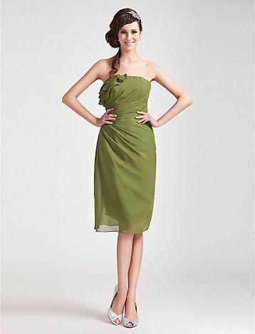 MAHALATH - Vestido de Dama de honor de Gasa - USD $ 104.99