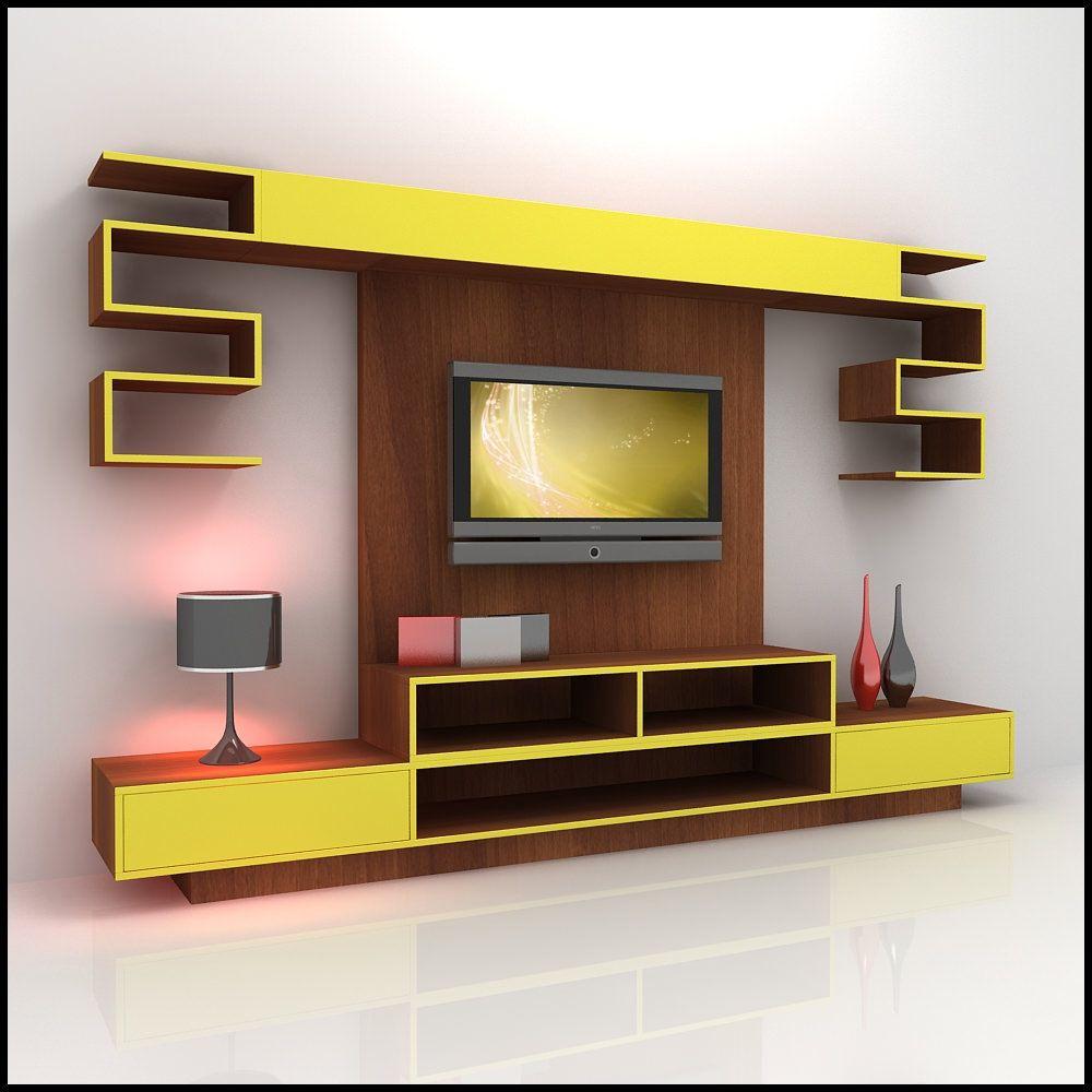 Wall Mounted Showcase Designs  Httpbottomunion  Pinterest Glamorous Living Room Showcase Design Decorating Design