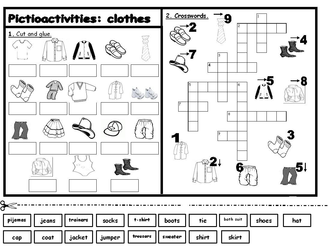 small resolution of My English Printables   Learning english for kids