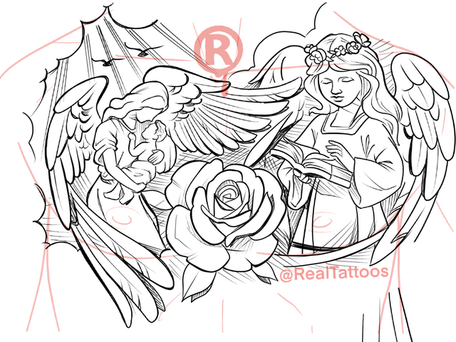 All Angels 50 Page Download In 2020 Tattoo Design Drawings