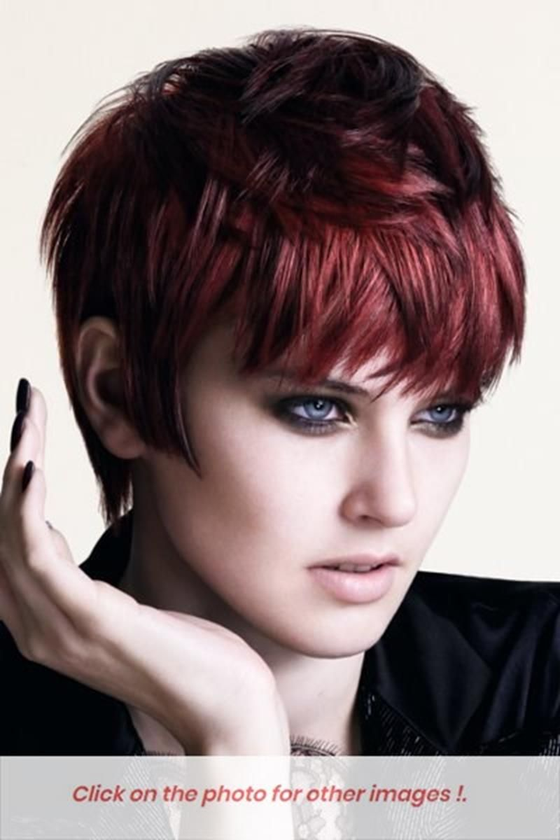 Pin On Short Red Hair Style