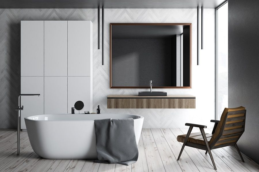 Leroymerlin Leroymerlinpolska Dlabohaterowdomu Domoweinspiracje Lazienka Wanna Bath Bathroom Bathroom Bathtub