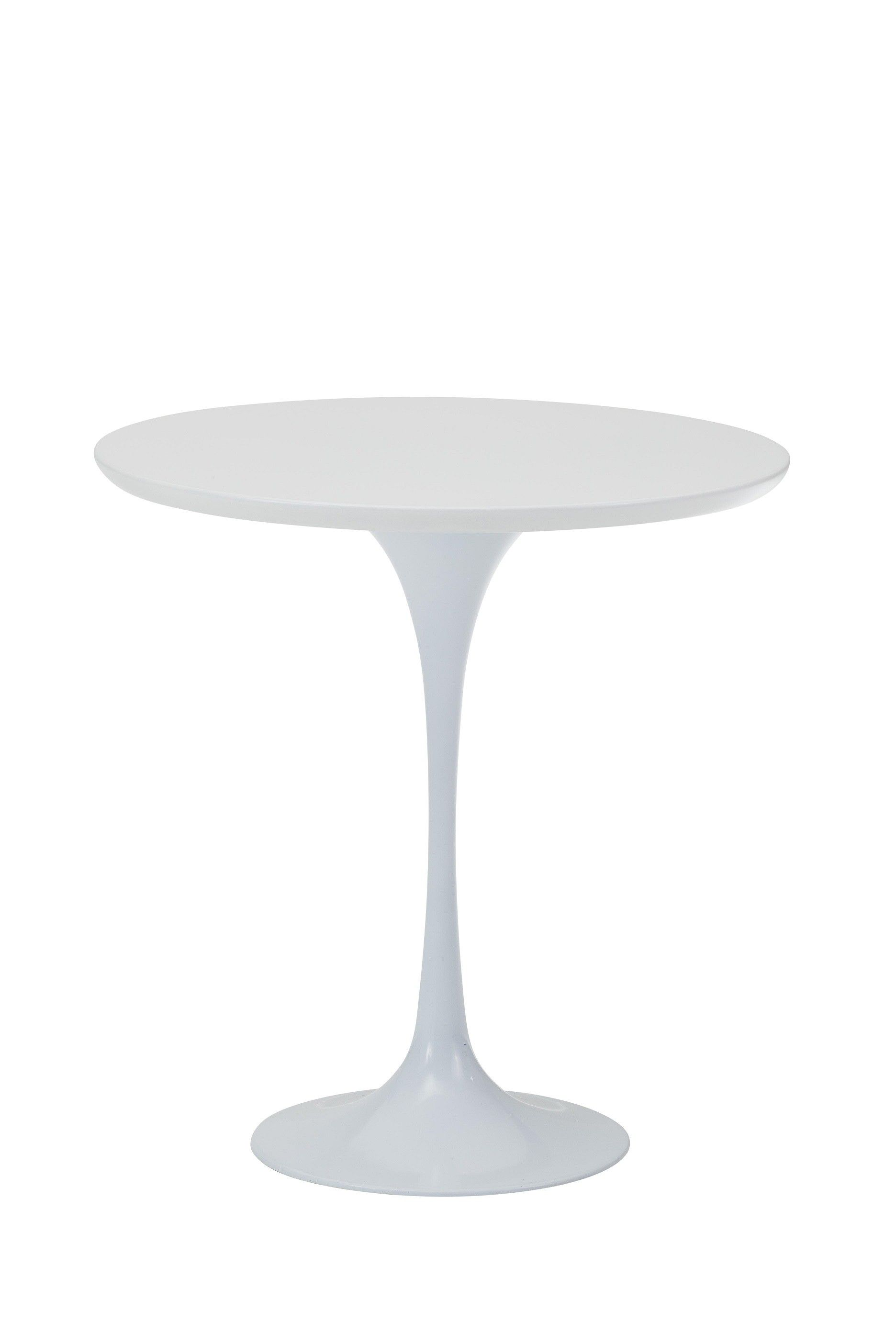 Replica Eero Saarinen Tulip Side Coffee Table   White    As One Of The Most
