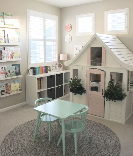 Design Your Own Home Screen: Pretty In Pastels Playhouse In 2019