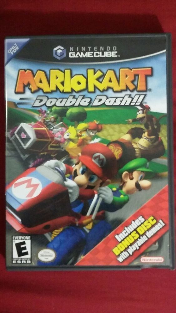 Nintendo Gamecube Mario Kart Double Dash Game Bonus Disc