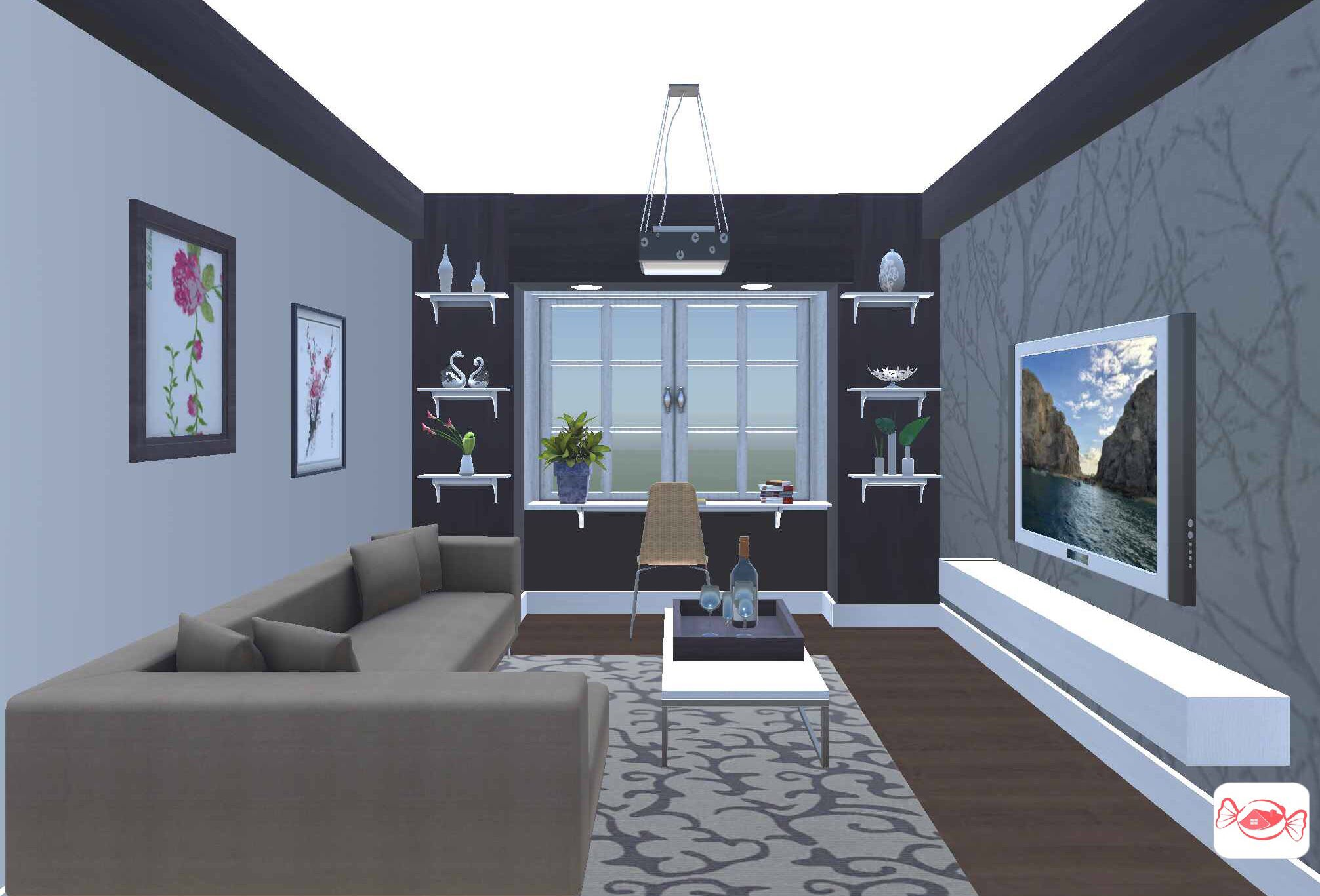 Luxury In Small Space Created With Home Sweet Home 3d App Design