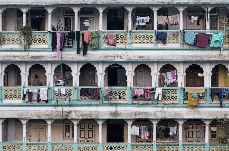 Mumbai, loyer pour un studio de 22m2 : 145 €, photo: Danish Siddiqui