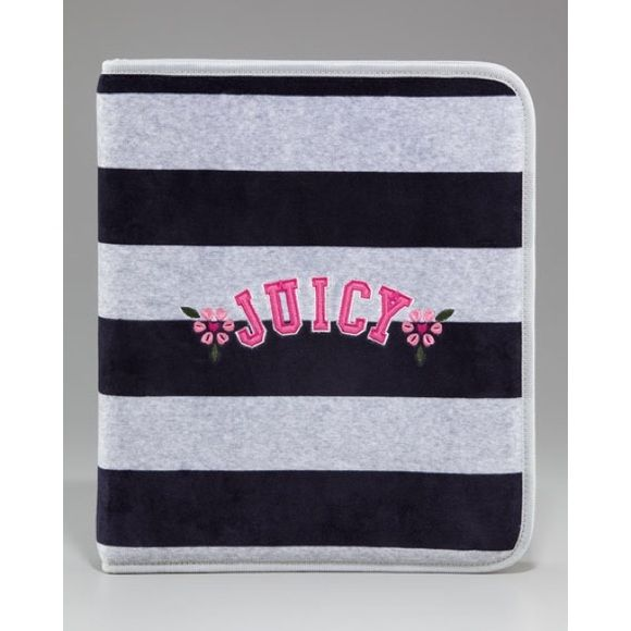 Juicy Couture Rugby Velour Binder Purchased From Juicy