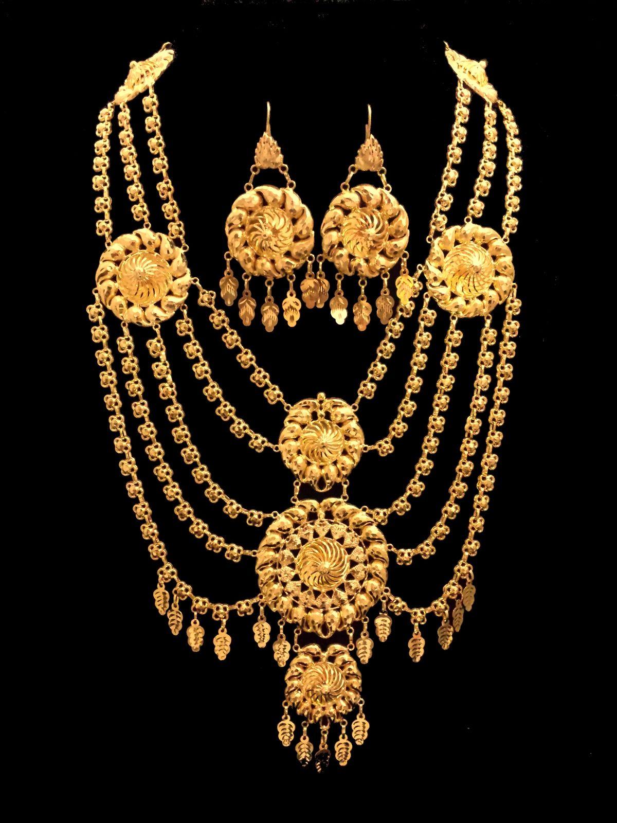 Arabic 21K Gold Jewelry   Women\'s fashion   Pinterest   Gold ...