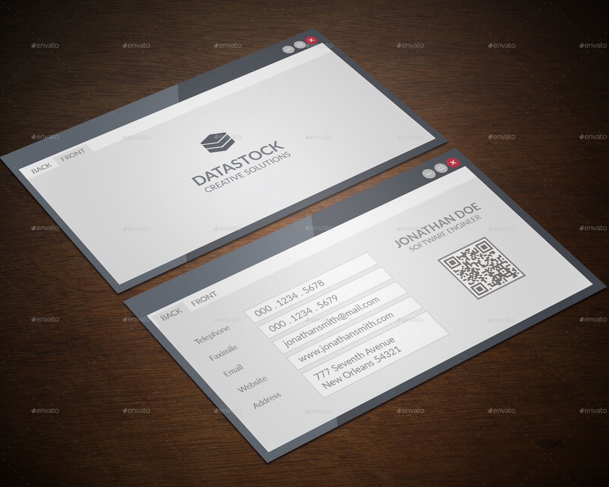 Software Engineer Business Card | Business cards, Software and Business
