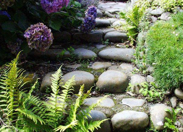 Gartentreppe selber bauen, um einen ländlichen Look zu erschaffen - gartentreppe holz selber bauen anleitung