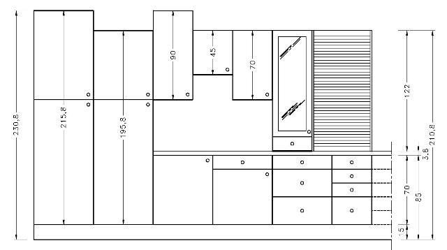 inspirant hauteur standard meuble de cuisine Décoration française - Hauteur Plan De Travail Cuisine Ikea