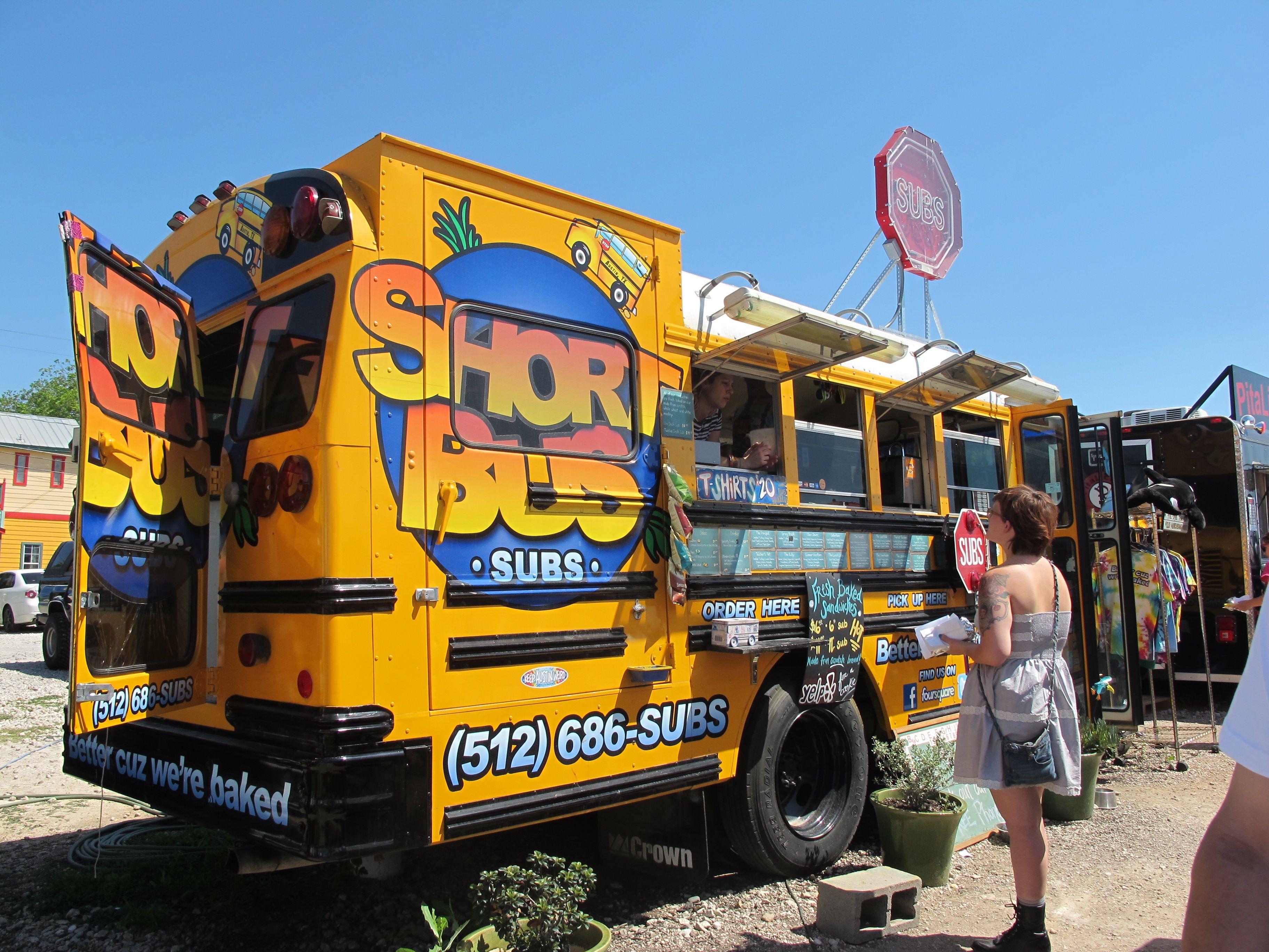 Austin texas food truck submarine trucks