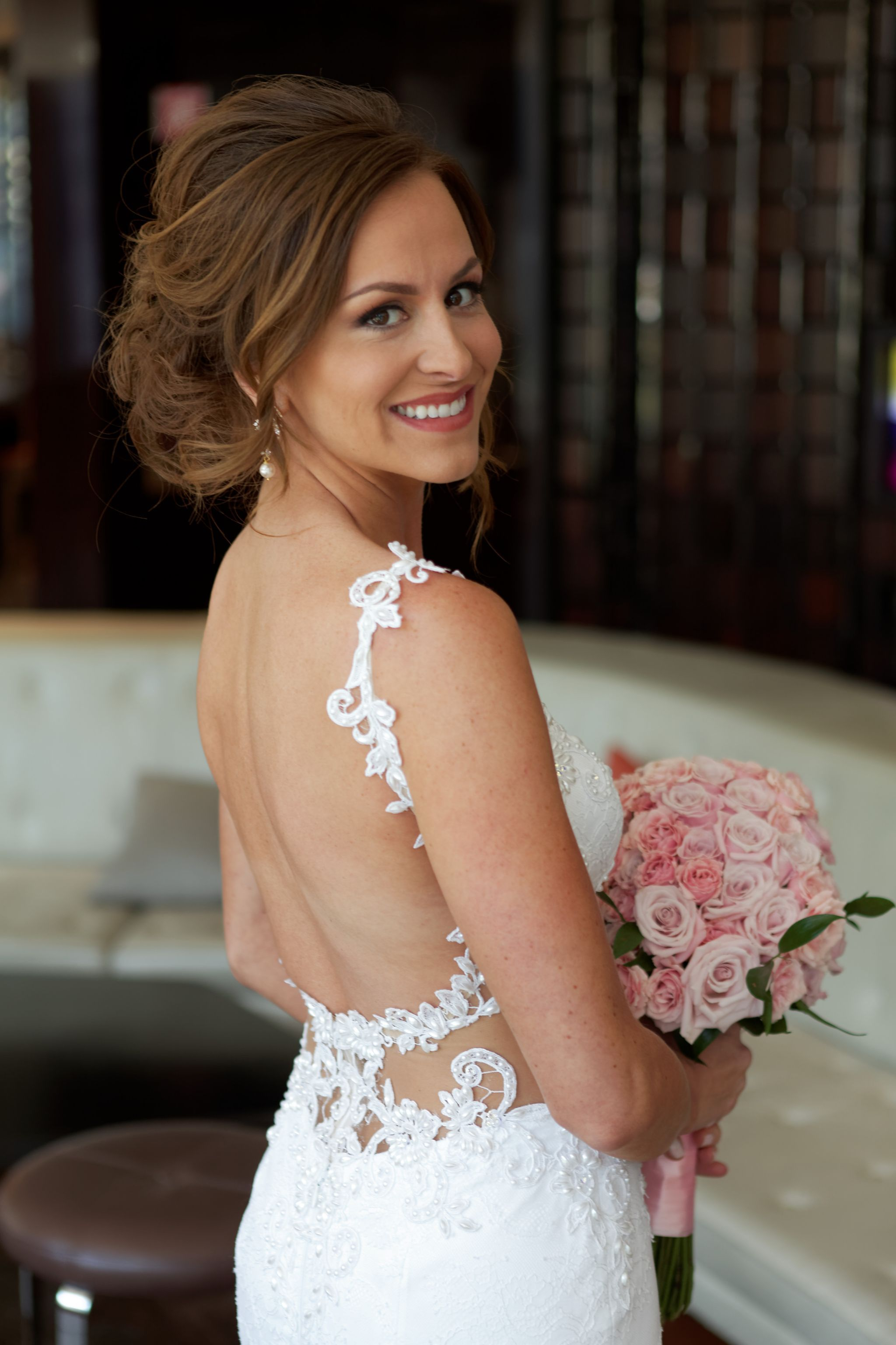 Nurit Hen Morning Glory Collection  Size   Used Wedding