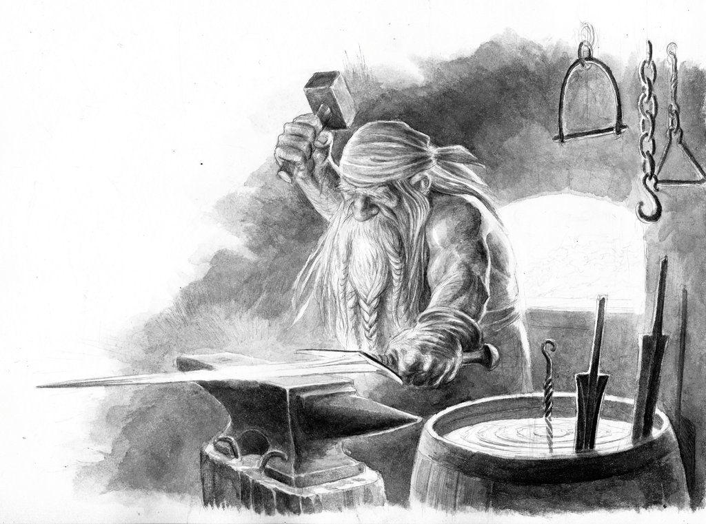 Blacksmithing God in Norse Mythology
