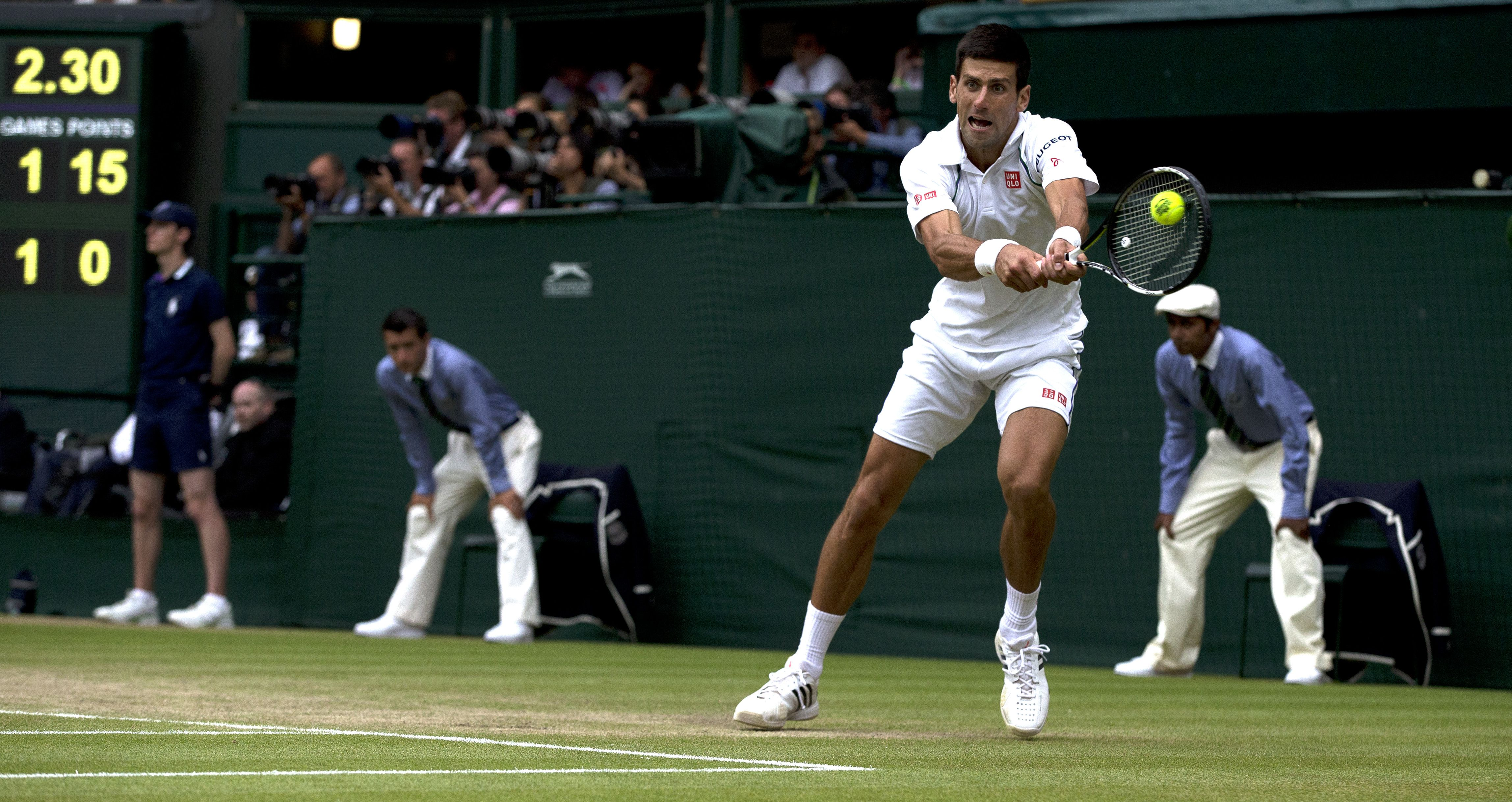 Novak Djokovic proved why he is the world's top player in