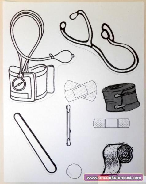 Kalıplı Sağlık Ve Ilkyardım çantası önce Okul öncesi Ekibi Forum