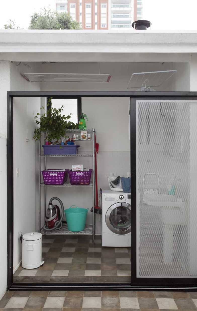 10 lavanderias pequenas que fogem do bvio. Laundry Room BathroomLaundry ...