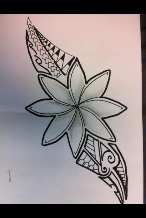 Polynesian Tribal Tattoos Hawaiian Tattoo Polynesian Tattoos Women Tattoos For Women Flowers