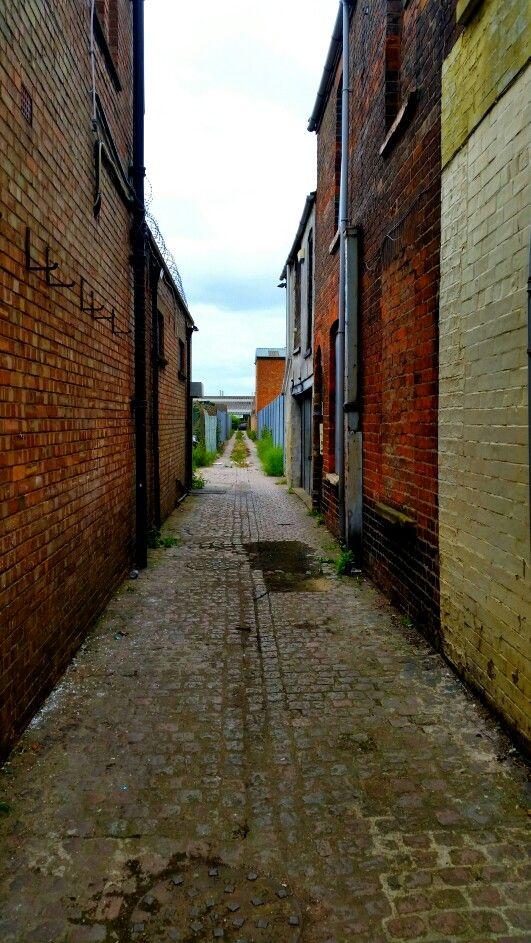 Victorian Alleyway Freeman Street Grimsby Grimsby
