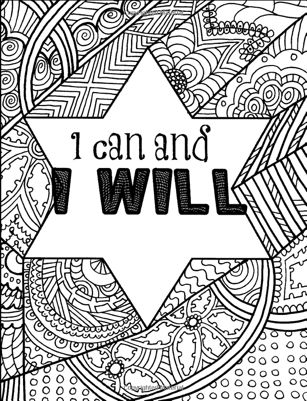 Amazon.com: Positive Affirmations: An Adult Coloring Book ...
