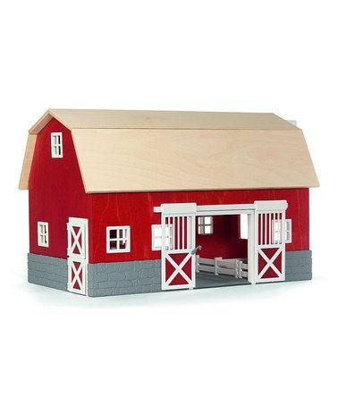 Look at this #zulilyfind! Barn Building #zulilyfinds