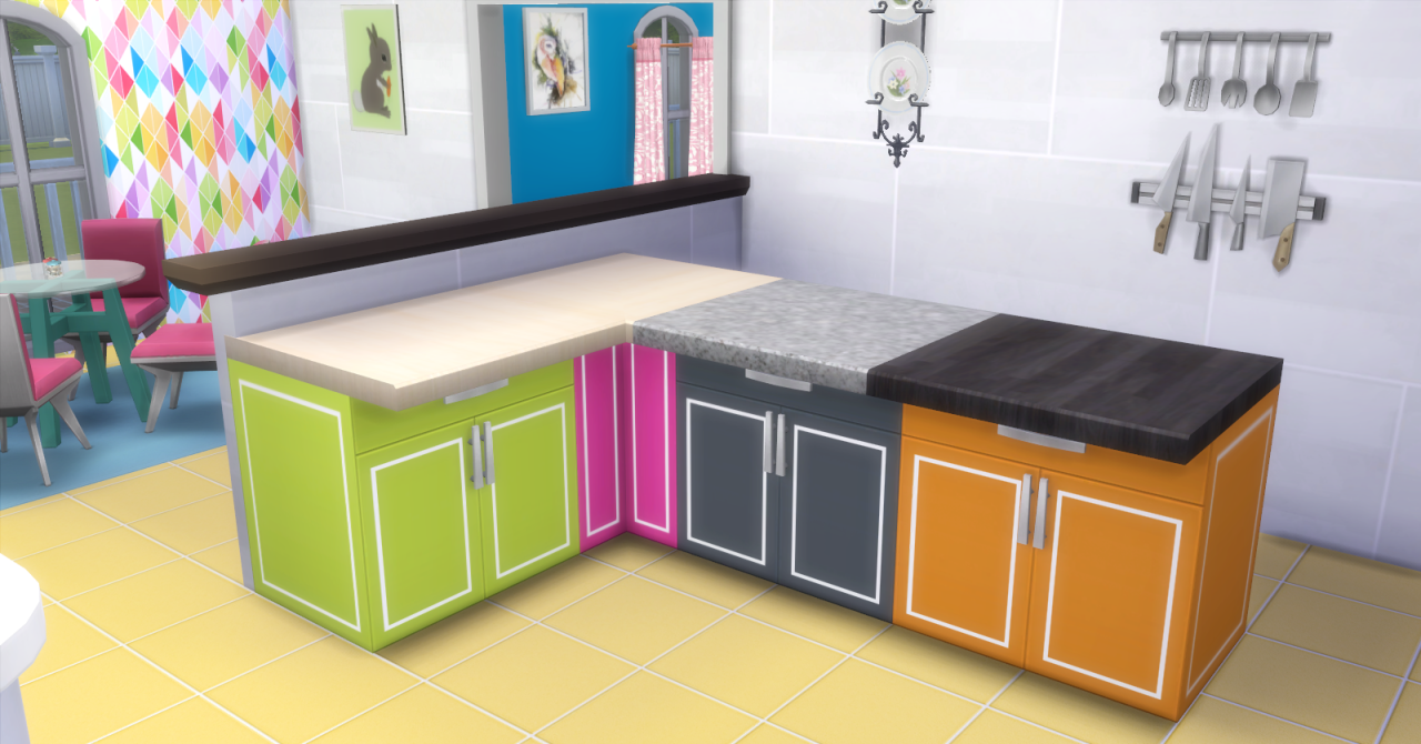 Fallenstar119 Cool Kitchens Sims 4 Cc Kitchen Counters Sims 4 Cc Kitchen