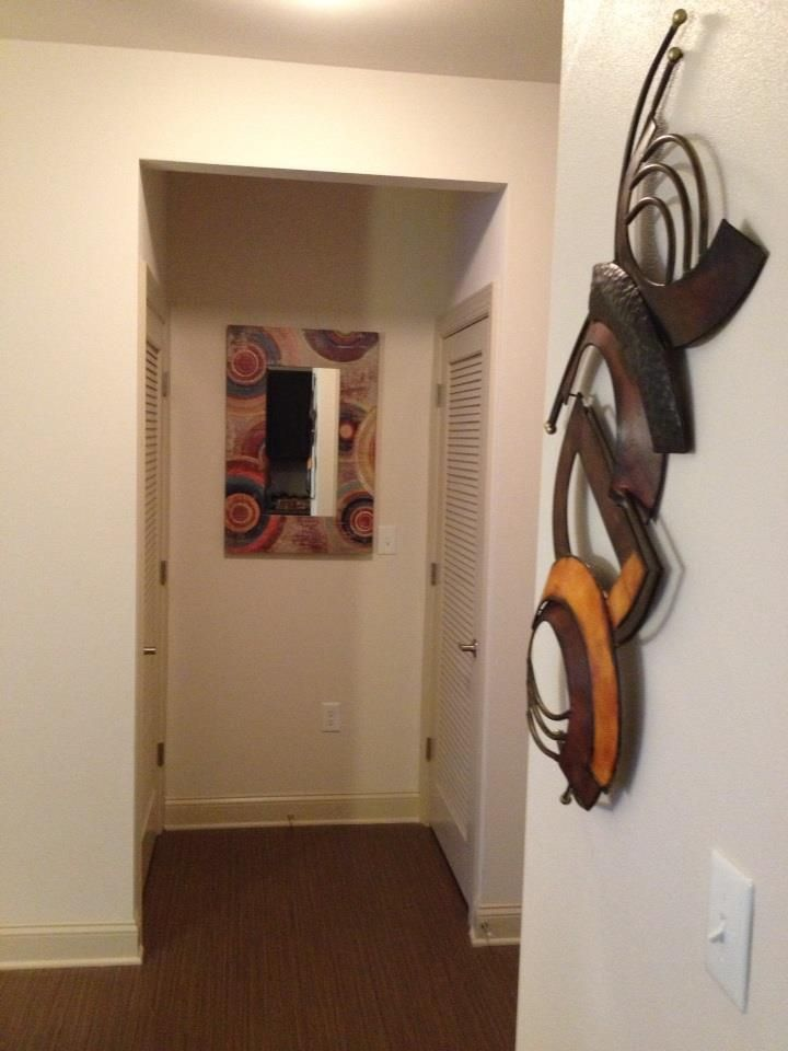 Dressed Walls. Metal Abstract Art | amazon.com • Mirror | burlington ...