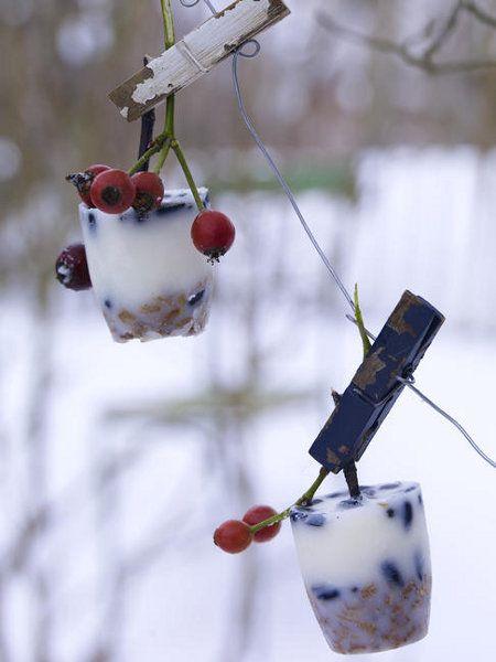Winterliche Bastelideen Schnee \ Eis - Wohnideede Christhmas - wohnideen selbermachen weihnachten
