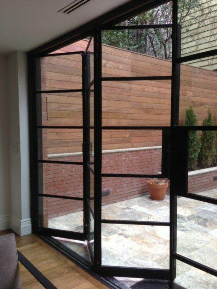 Les portes pliantes design en 44 photos! Verandas, Doors and - Cuisine Exterieur Leroy Merlin
