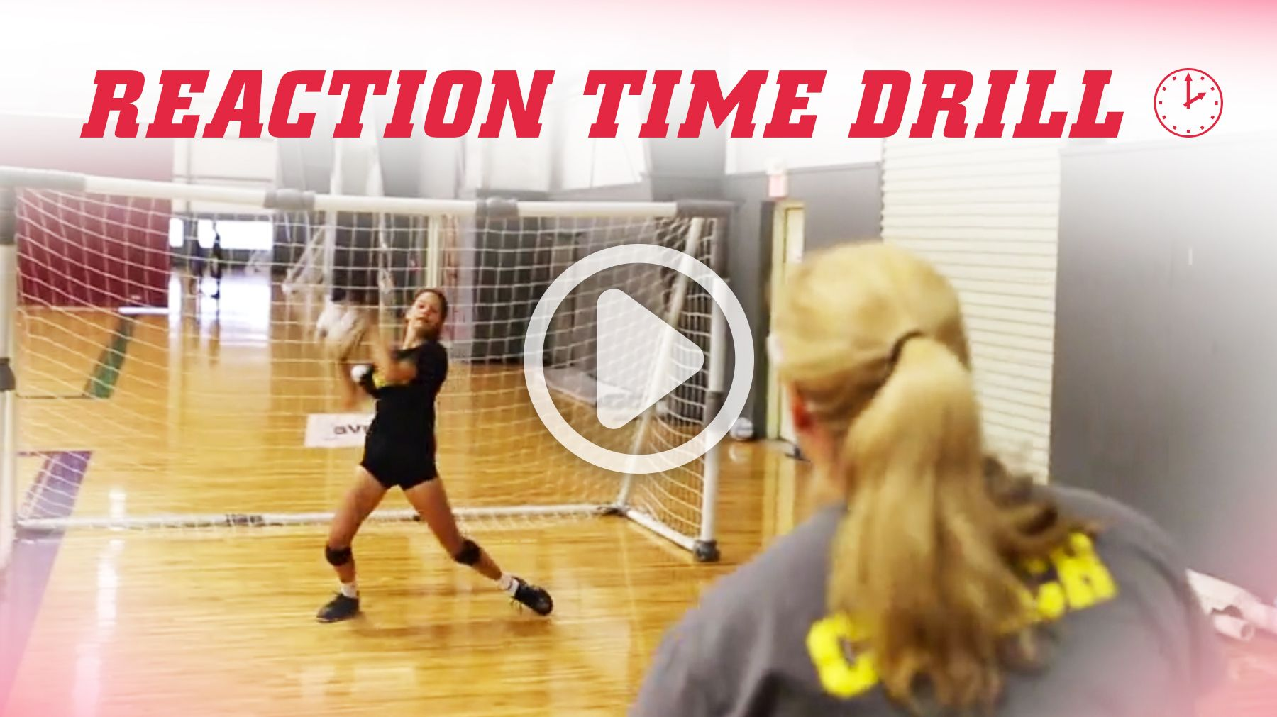 Reaction Time Training Drill Volleyball Skills Coaching Volleyball Volleyball Drills