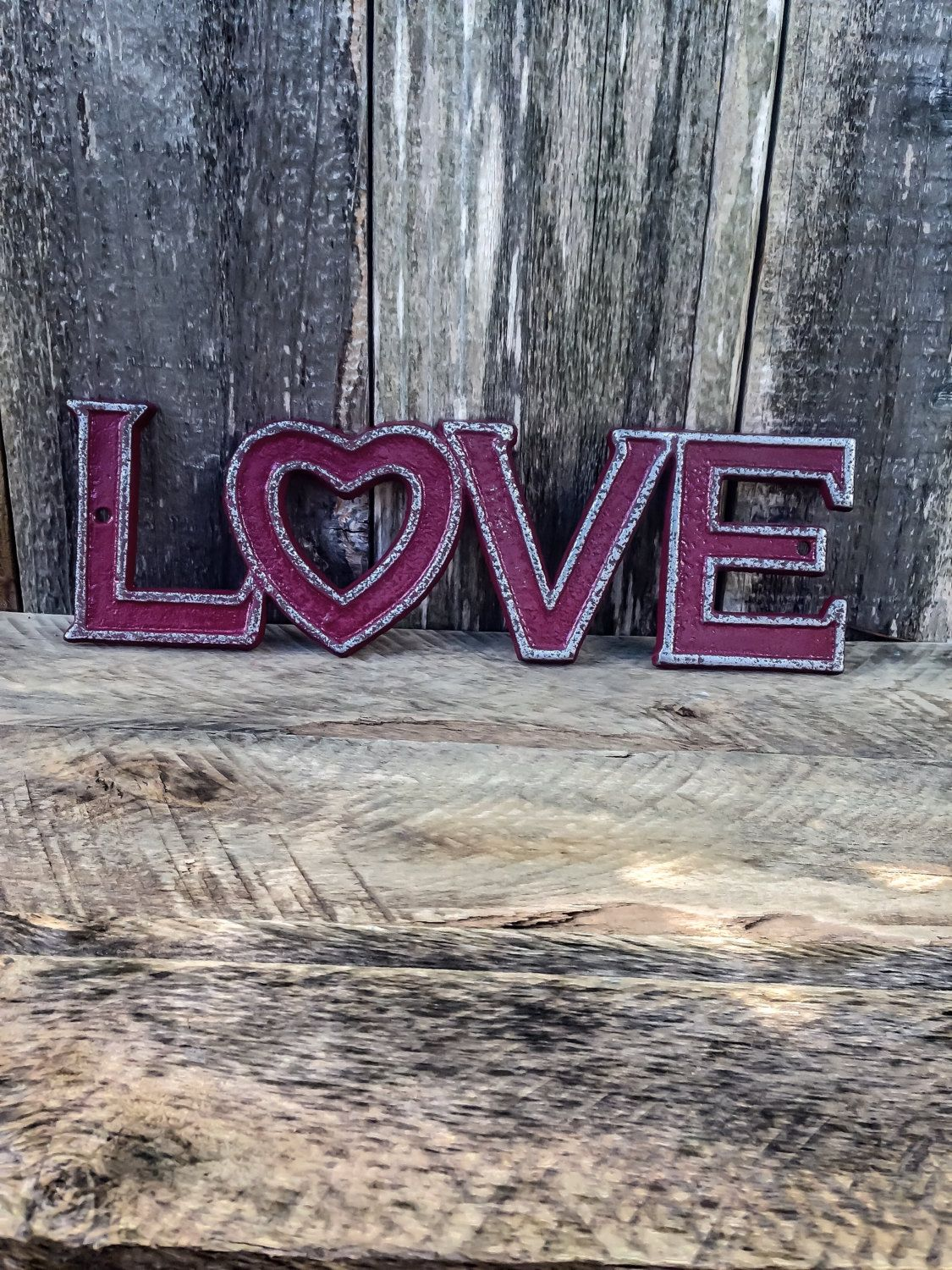 Cast iron love sign valentines day decor love wall decor cast iron love sign valentines day decor love wall decor valentines day gift for her gallery wall girls room decor girl nursery amipublicfo Images