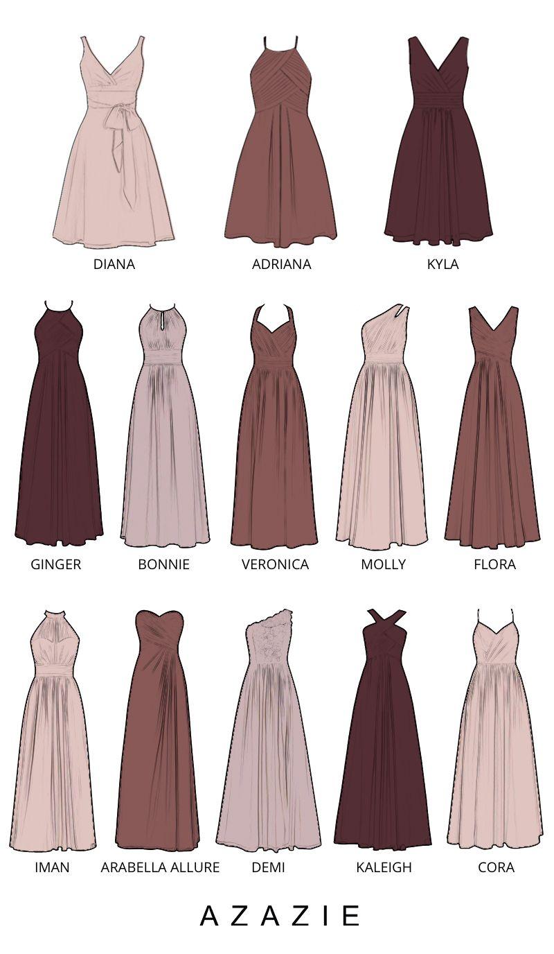 Azazie 2020 Bridesmaid Dresses