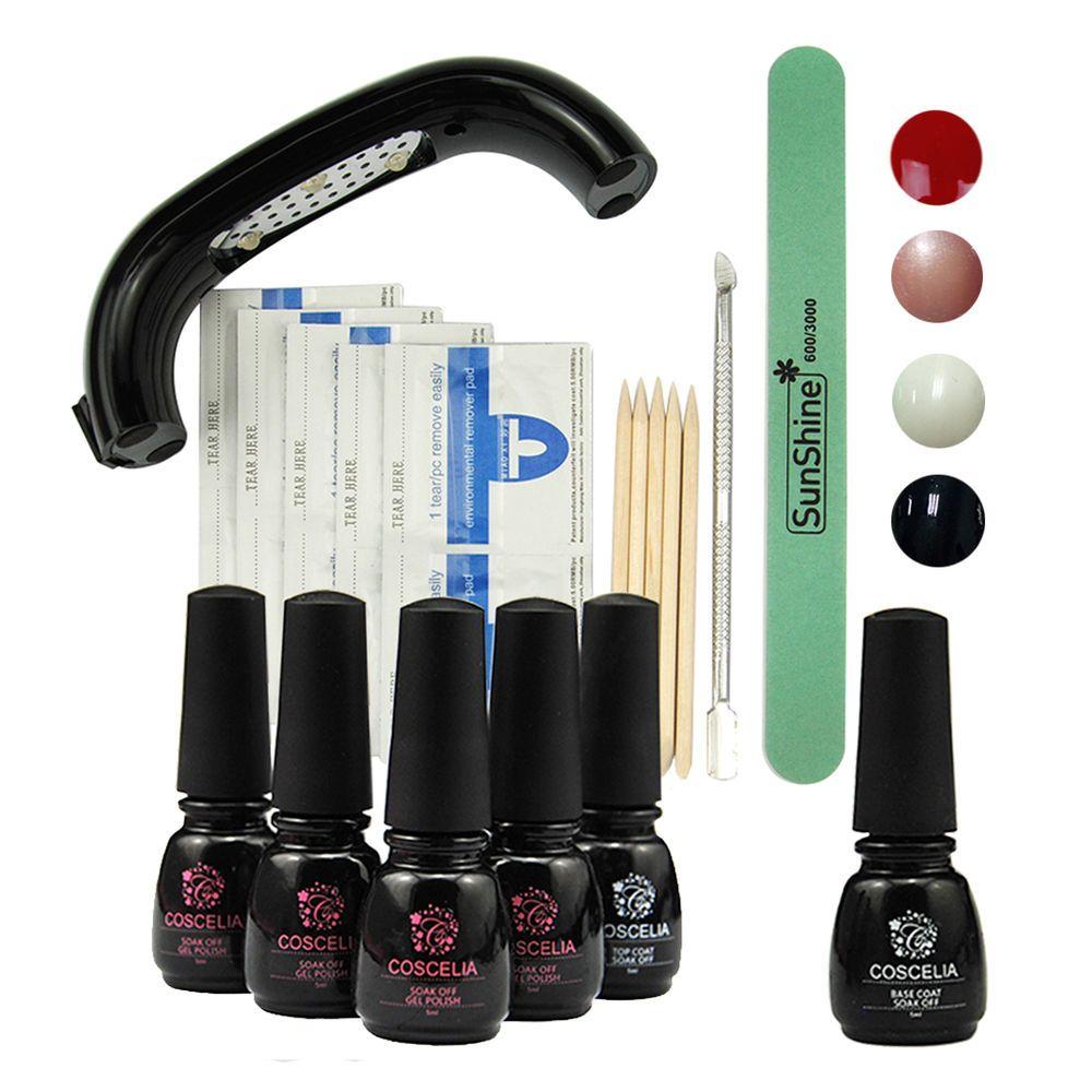 1x Qq Topcoat 1x Buffer File 5x Nail Remover Pad 4x Soak Off Uv Gel Nail Polish Color In The Pic Nail Polish Remover Pads Gel Polish Nail Art Uv Gel