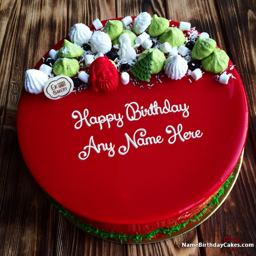 Best Red Velvet Cake For Friends Birthday Wishes With Name Hbd