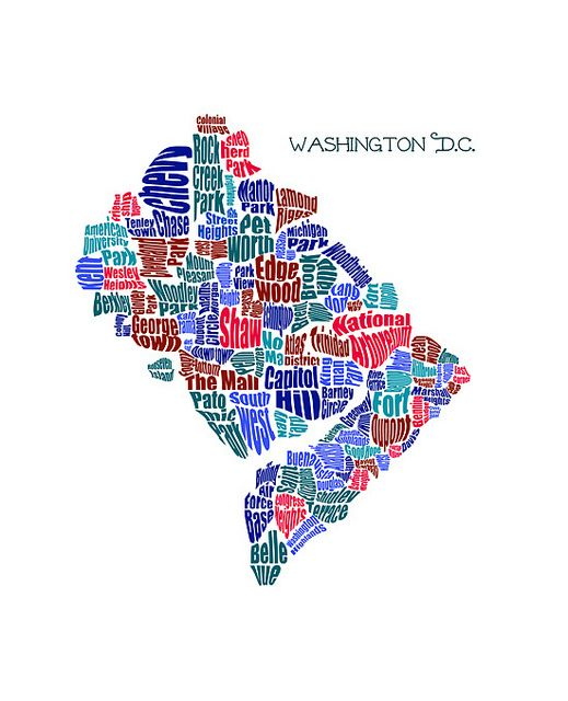Washington Dc Neighborhood Map Washington DC Neighborhood Maps | Oh the Places We Will Go