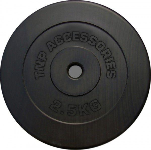 TNP Accessories Rubber Hex Dumbbell 2 x 30kg = 60KG Hexa Weight Solid Chrome Dumbbells Set