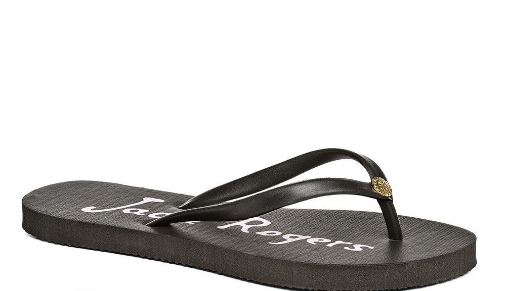 Jack Rogers Skye Sandal- Black from Shop Southern Roots TX